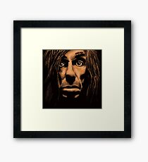 The Godfather of Punk Framed Print