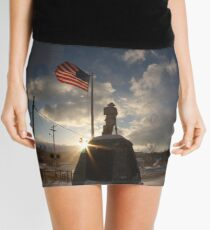 Doughboy Monument Mini Skirt