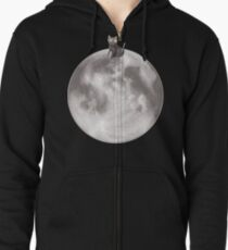 Lost in a Space / Moonelsh Zipped Hoodie