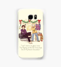 The Mystery of the Advent Chocolates Samsung Galaxy Case/Skin