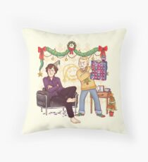 The Mystery of the Advent Chocolates Throw Pillow