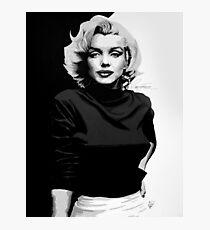 Marilyn Monroe Painting Photographic Print