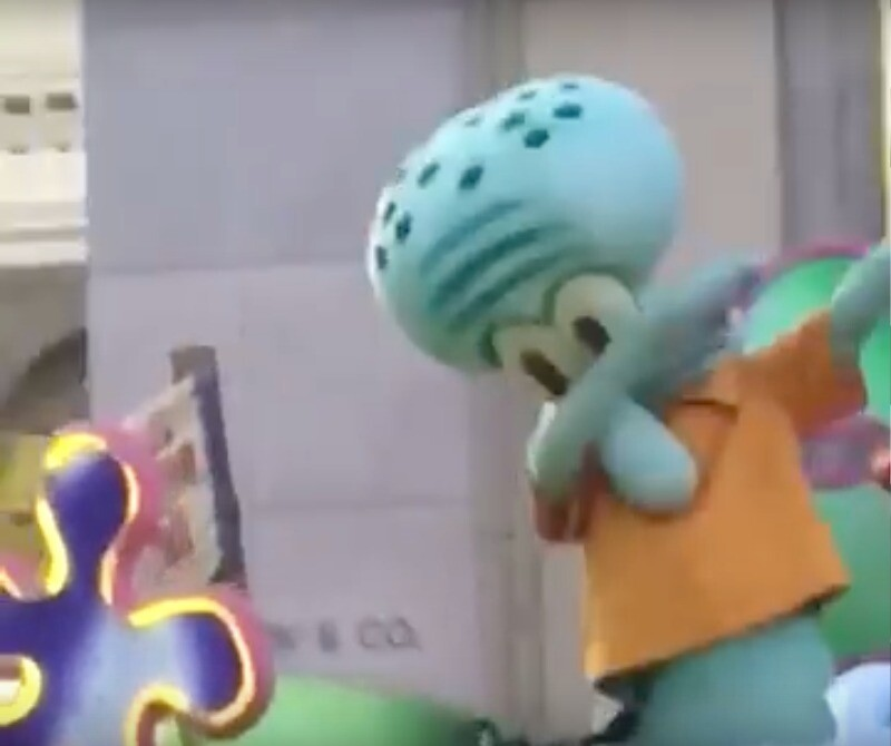 dabing squidward by conc1234567890 redbubble