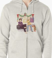 The Mystery of the Advent Chocolates Zipped Hoodie