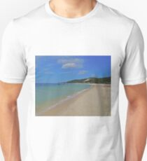 Beach, Tangalooma, Queensland, Australia T-Shirt