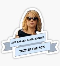 Civil Rights Sticker