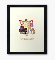 The Mystery of the Advent Chocolates Framed Print