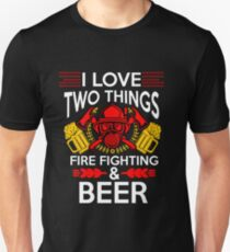 Firefighter Beer T-Shirt