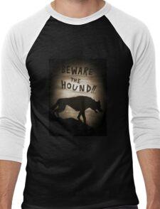 Sherlock Beware the Hound Men's Baseball ¾ T-Shirt
