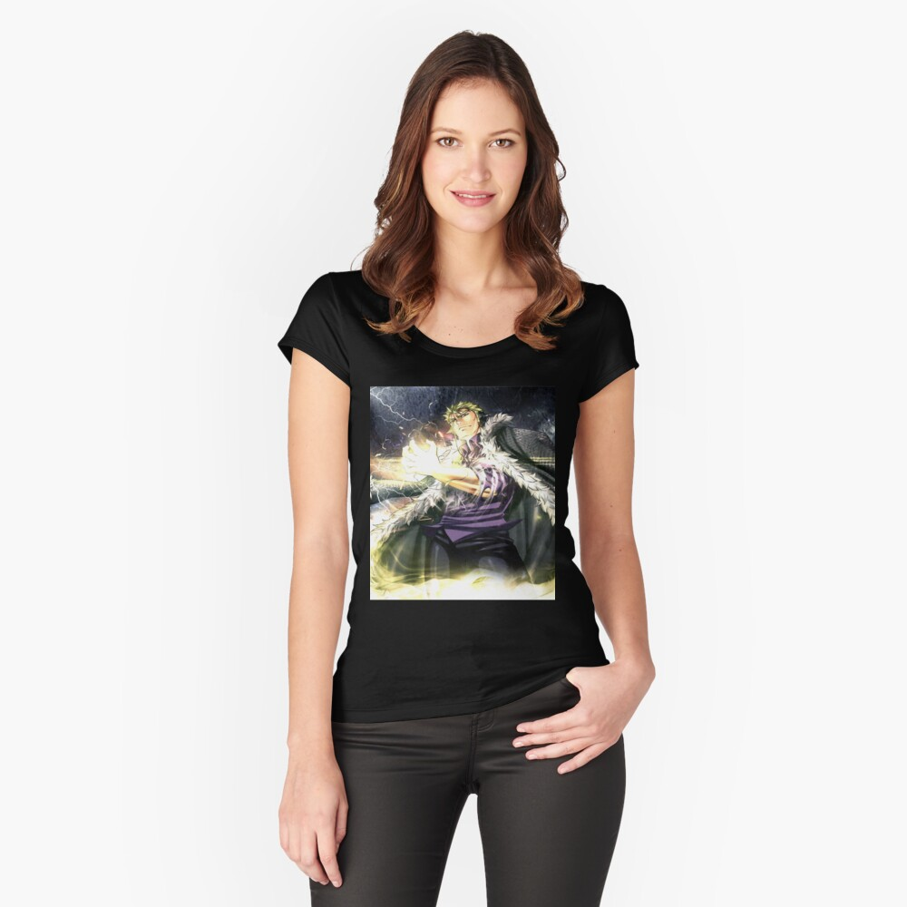 laxus Tailliertes Rundhals-Shirt