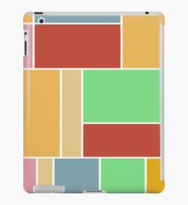 Abstract #347 1960s Palette iPad Case/Skin