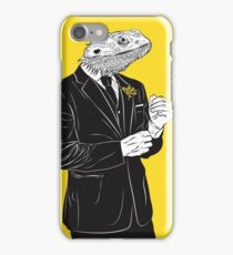 Dapper Lizard iPhone Case/Skin