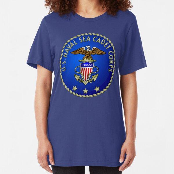Sea Cadets Seal and Emblem Slim Fit T-Shirt