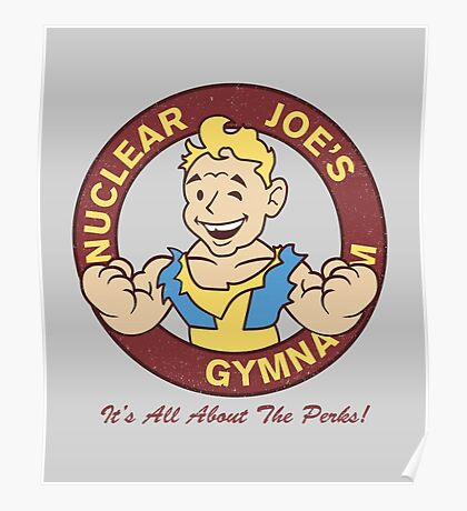Nuclear Joe's Average Gym Poster