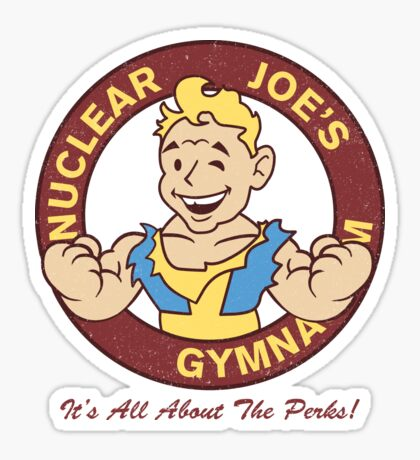 Nuclear Joe's Average Gym Sticker