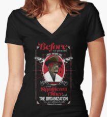 Gentlemayne - Makaveli  Women's Fitted V-Neck T-Shirt