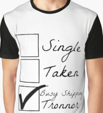 Busy shipping Tronnor Graphic T-Shirt