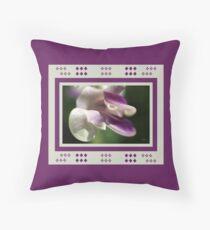 Corkscrew Flower  Full Bloom Throw Pillow