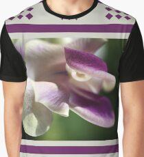 Corkscrew Flower  Full Bloom Graphic T-Shirt