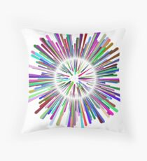Multicultural Explosion Throw Pillow