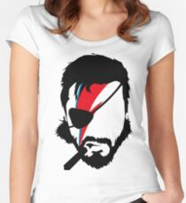 Big Bowie Women's Fitted Scoop T-Shirt