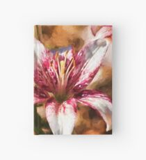 Stargazer Lily - Painted Hardcover Journal