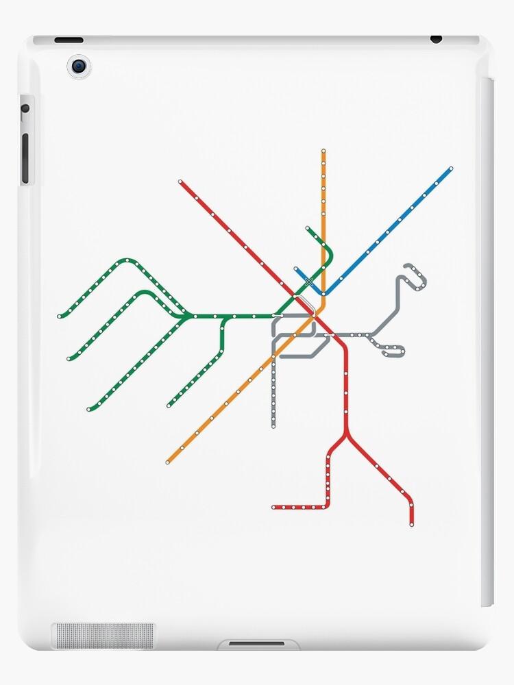 Boston Train Map\