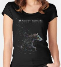 Modest Mouse Bear Women's Fitted Scoop T-Shirt