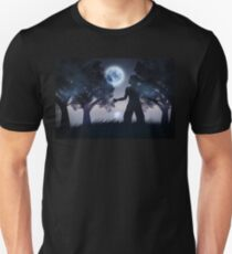 Lonely Night Landscape 2 T-Shirt