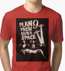Plan 9 from outer space - the movie Tri-blend T-Shirt