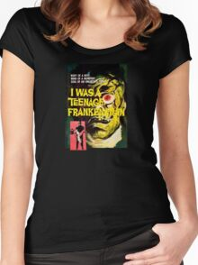 I was a teenage frankenstein - the movie Women's Fitted Scoop T-Shirt