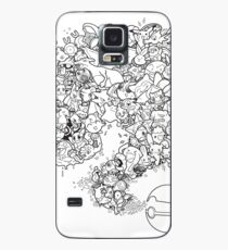 Doodlemon Case/Skin for Samsung Galaxy
