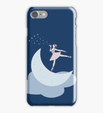 Dancing on the moon iPhone Case/Skin