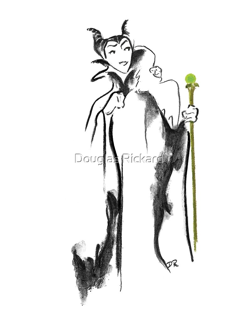 Where Pictures Shine - Maleficent and her Staff by douglasrickard