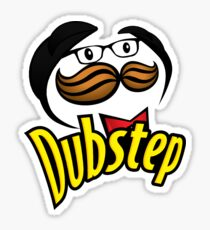 Dubstep Pringles Sticker