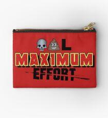 Dead Poo L - Maximum Effort Zipper Pouch
