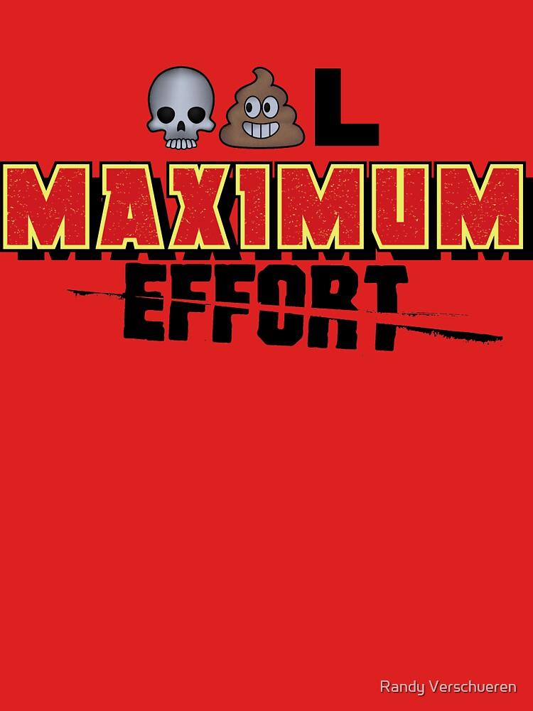 Dead Poo L - Maximum Effort by vieke