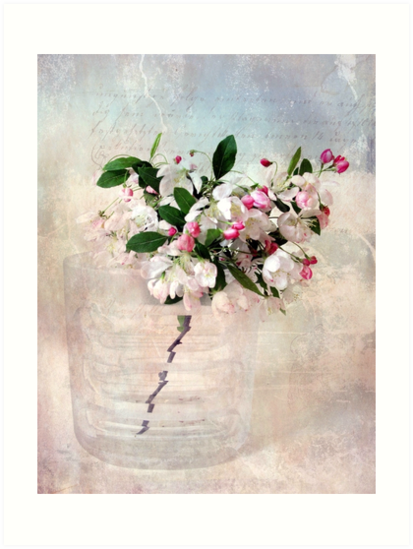 Apple Blossom Still Life by Jessica Jenney