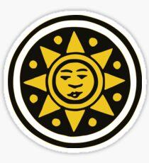Carte napoletane - denari/ori   (neapolitan gold/coin) Sticker
