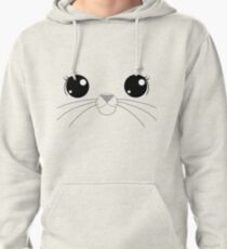 Selkie with whiskers Pullover Hoodie