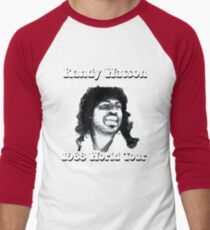 Randy Watson 1988 World Tour Men's Baseball ¾ T-Shirt