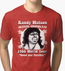 Randy Watson 1988 World Tour Tri-blend T-Shirt