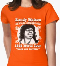 Randy Watson 1988 World Tour Women's Fitted T-Shirt