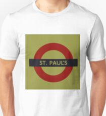 London Underground - St Paul's Unisex T-Shirt