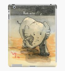 Elephant sketch iPad Case/Skin
