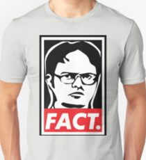 "The Office: Dwight ""FACT' Obey T-Shirt"