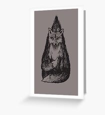 Two-Tailed Greeting Card