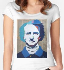 Edgar Allan Poe Women's Fitted Scoop T-Shirt