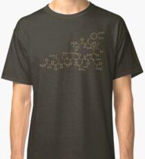 Oxytocin - Orange - Works on Dark Fabric Classic T-Shirt