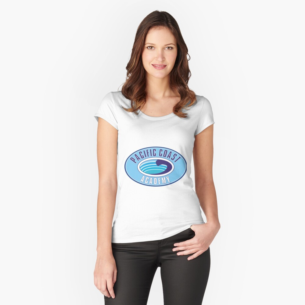 PCA Pacific Coast Akademie Zoey 101 Tailliertes Rundhals-Shirt